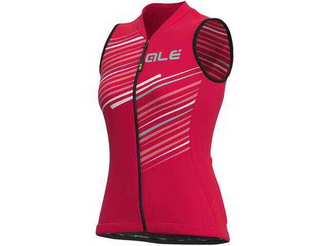 Alé Cycling Solid Flash SL Jersey Women, rojo